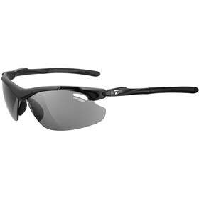 Tifosi Tyrant 2.0 Glasses matte black - smoke/AC red/clear